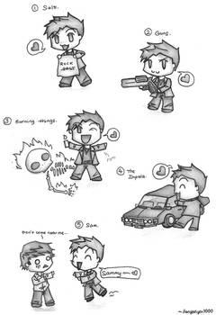 Supernatural - Dean loves...