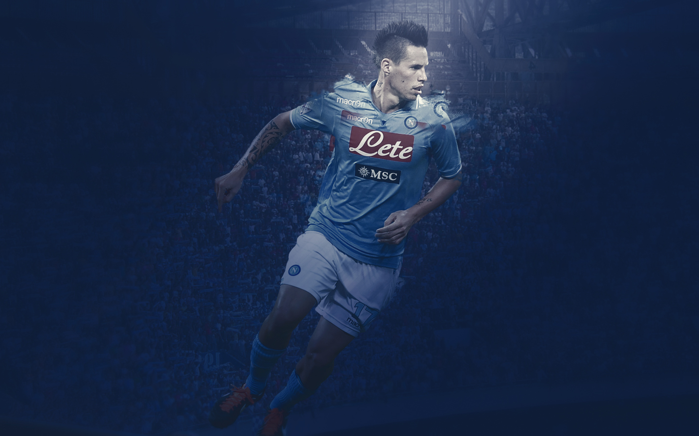 Marek Hamsik background by darth me on DeviantArt