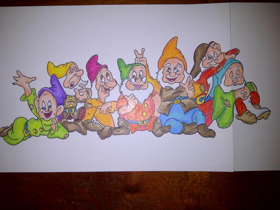 seven dwarfs by manga1331