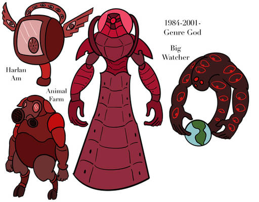 1984-2001- Genre God