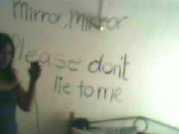 Mirror dont lie by blackrimmedeyes