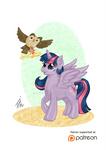 Pony Pets: Princess Twilight Sparkle and Owloysius