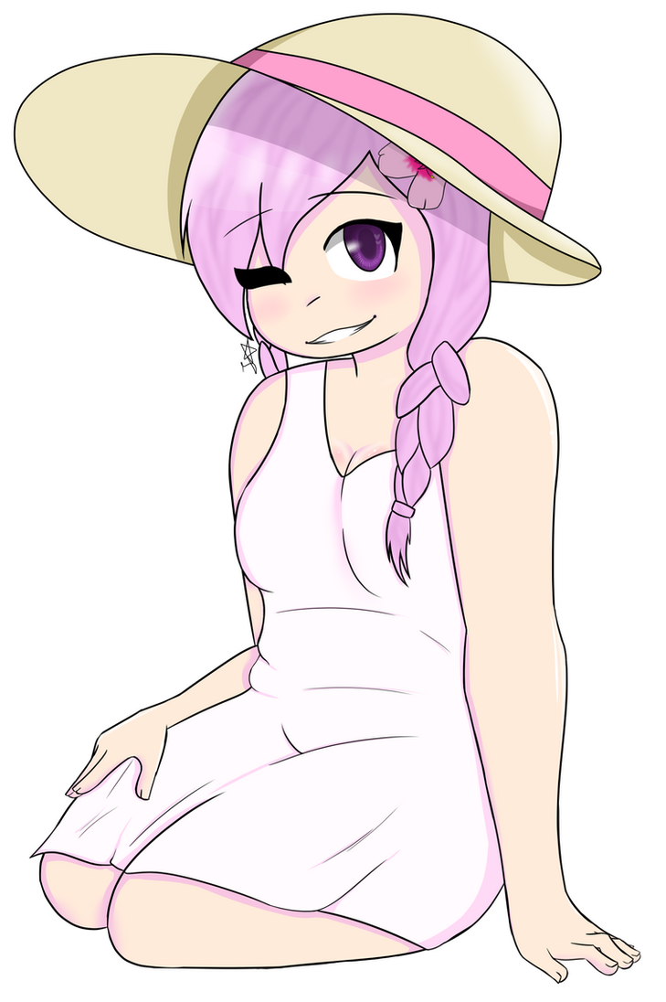 Chubby random girl by Jolectra