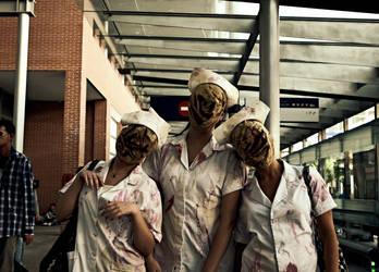 Nurses Silent Hill by CatFuckblablabla