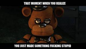 Freddy FuckBoy Meme by CrowRider1
