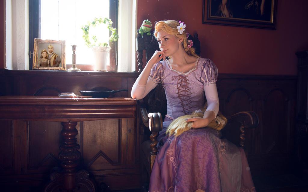 Rapunzel: Daydream by sofiawilhelmina
