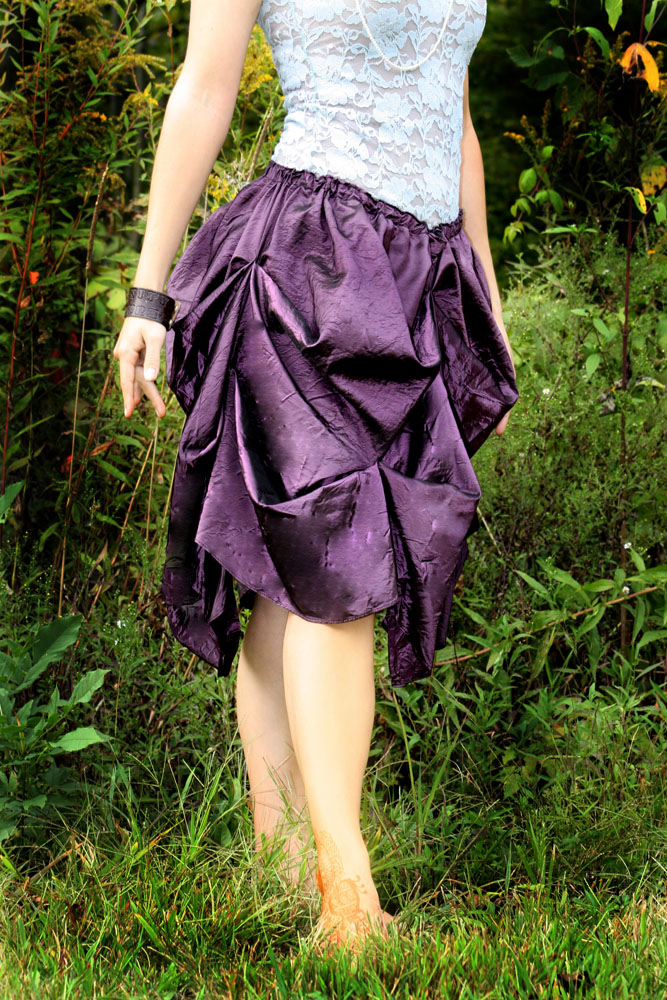 Short Bustle Style Skirt by leapyearbaby