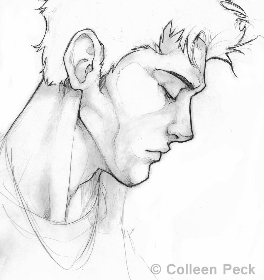 Edward cullen pencil by wieldsthekey on deviantart for Cute hard drawings
