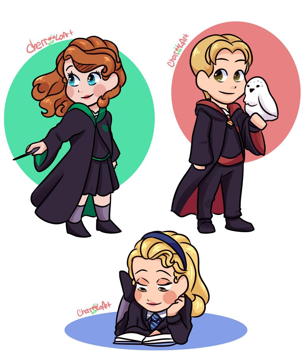 Sofia the First Harry Potter Au by CherryLoArt on DeviantArt