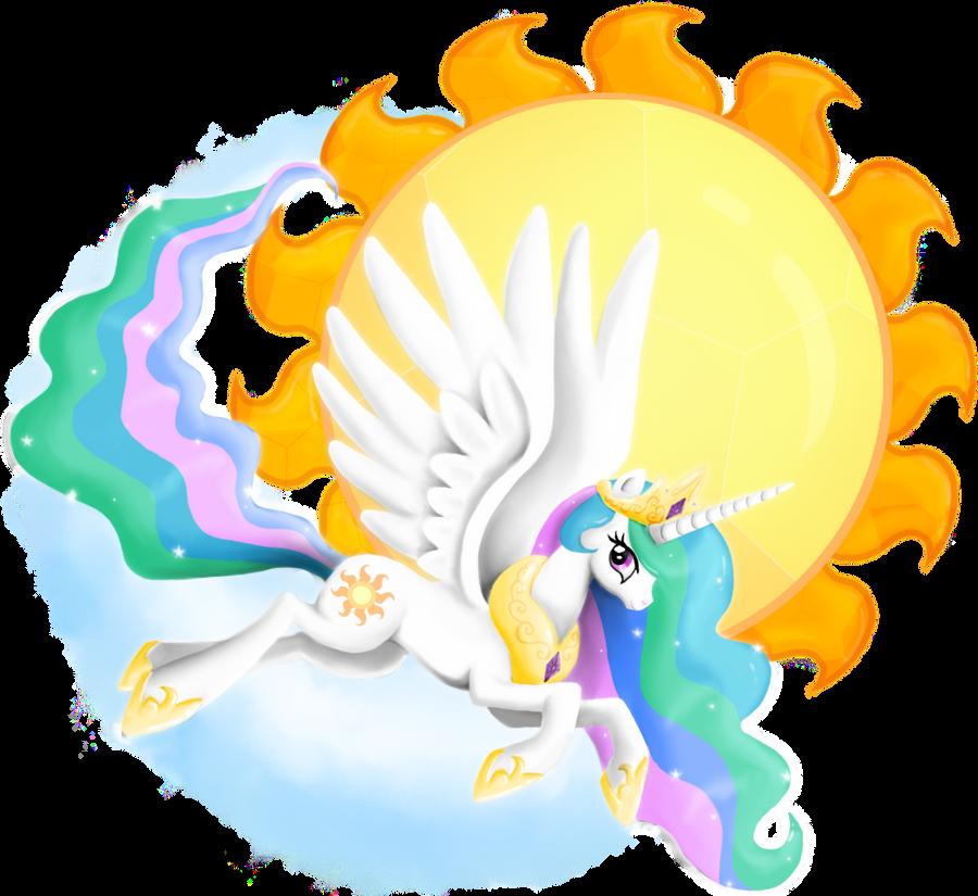 Princess Celestia by PlatinumPegasister