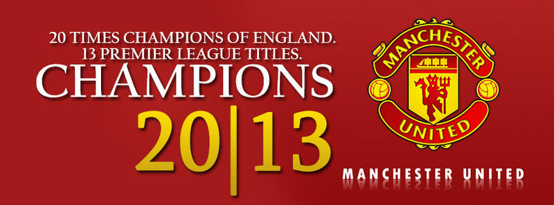 Manchester united champions 2013 fb cover by myownart87 on manchester united champions 2013 fb cover by myownart87 voltagebd Images