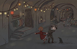 The Underground Market by fyr3lyt3