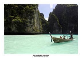 Loh Samah Bay, Thailand by guffy