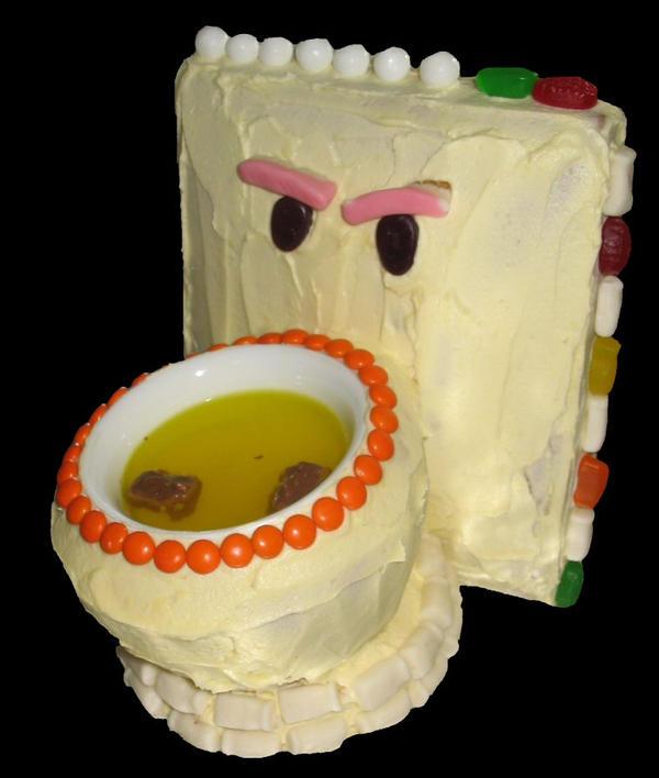 Potty Birthday Cake