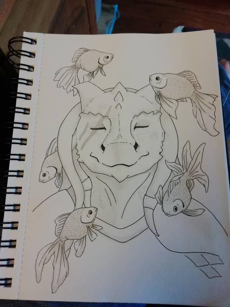 Teaching a Dragonborn new tricks by wspa
