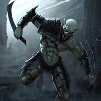 Goblin Warrior by Shadzior