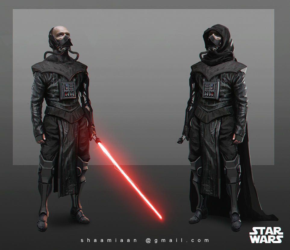 Lord Vader redesign by Shadzior