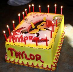 My Mighty Birthday Cake! by sendoki