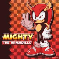 Mighty the Armadillo by sendoki