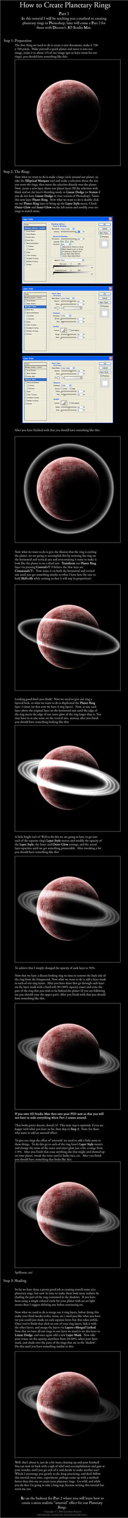 How to Create Planetary Rings by evanescent-void