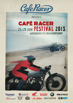 Cafe Racer Festival 2013 - MONTLHERY