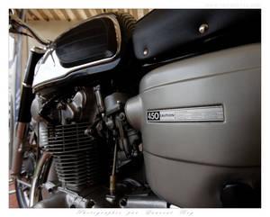 Honda CB450 - 006