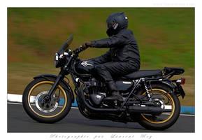 2015 CM - 003 - Kawasaki W800 by laurentroy