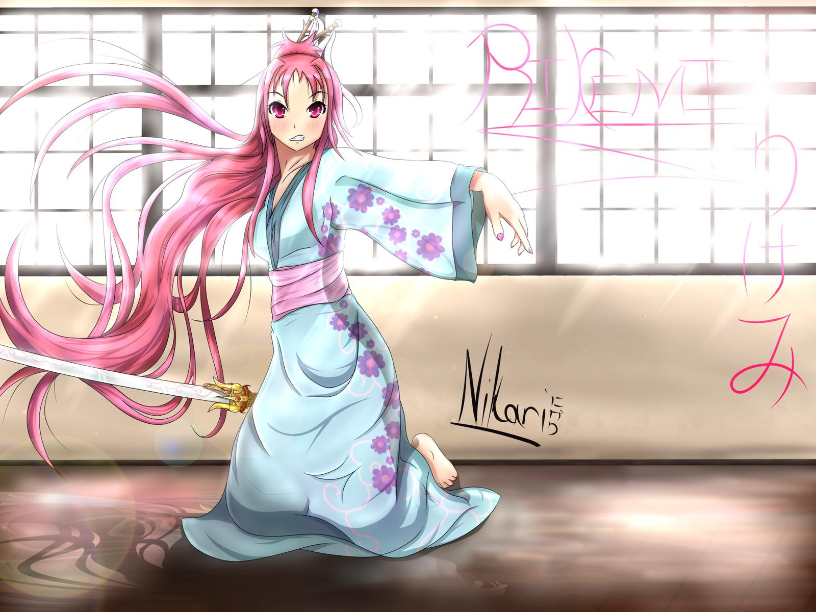 OC .:Rikemi:. by nikari-keyo