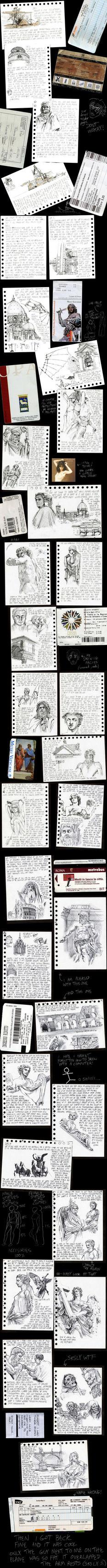 Travel Diary by kingaby