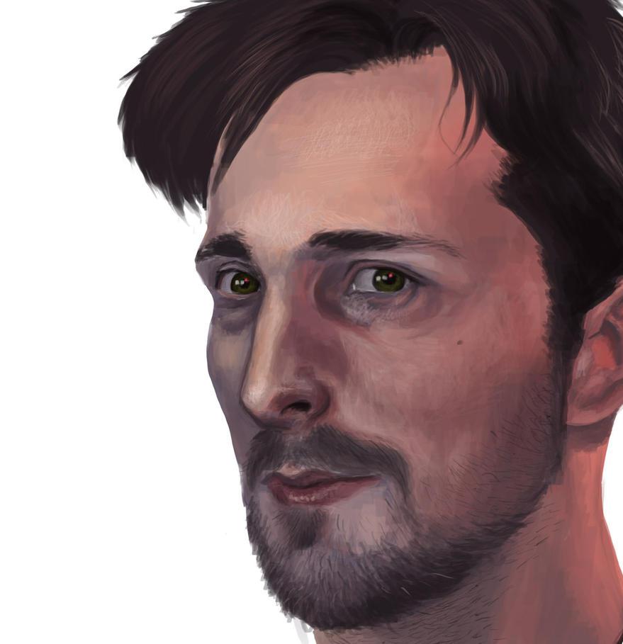 Self Portrait 04 by kingaby
