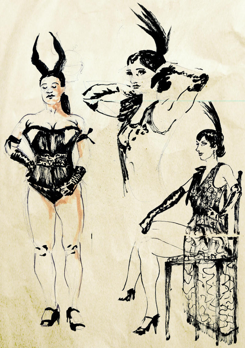 dr sketchy 10 2012 by kingaby