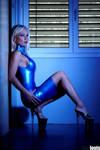 blue latex