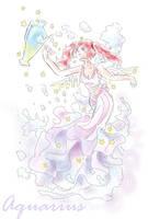 sketch -Aquarius by Moneyfunny