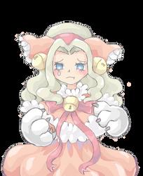 character design- cat+girl+doll