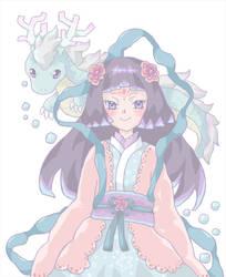 character design-dragon princess