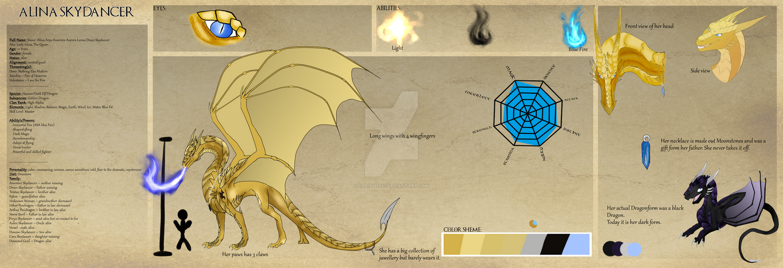 Alina Dragonform Ref. by chrissi1997