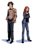the new Doctor Who and Amy