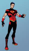 new Superboy costume