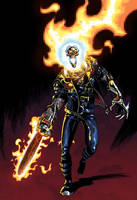 Ghost Rider 2099 by iliaskrzs