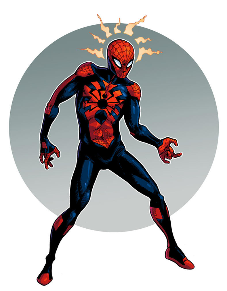 Spider-man redesign by iliaskrzs
