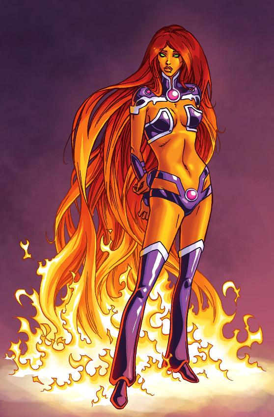 Starfire by iliaskrzs