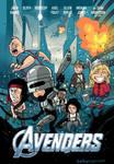 80s movie Avengers