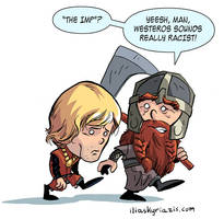 Tyrion Lannister and Gimli