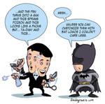 James Bond and Batman
