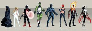 My Avengers lineup