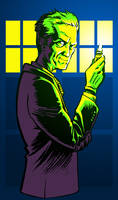 12th doctor by iliaskrzs