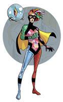 Superhero Sandman: DELIRIUM by iliaskrzs