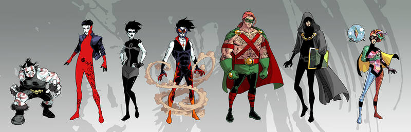 Superhero Sandman: The ENDLESS