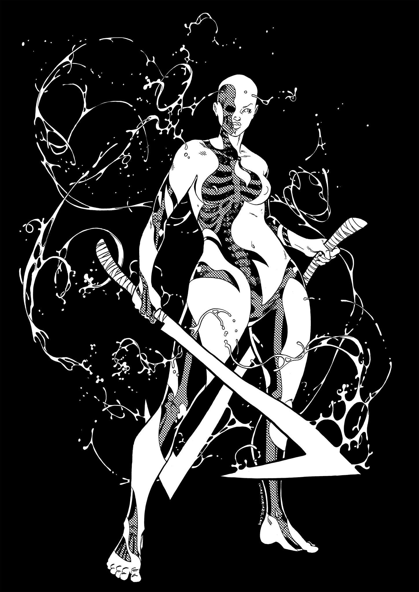 Skeletal t-shirt by iliaskrzs