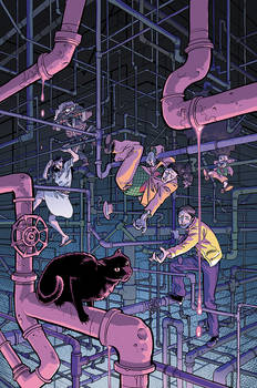 DIRK GENTLY salmon of doubt  #2 cover